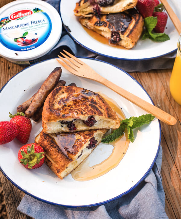 Camp Friendly French Toast